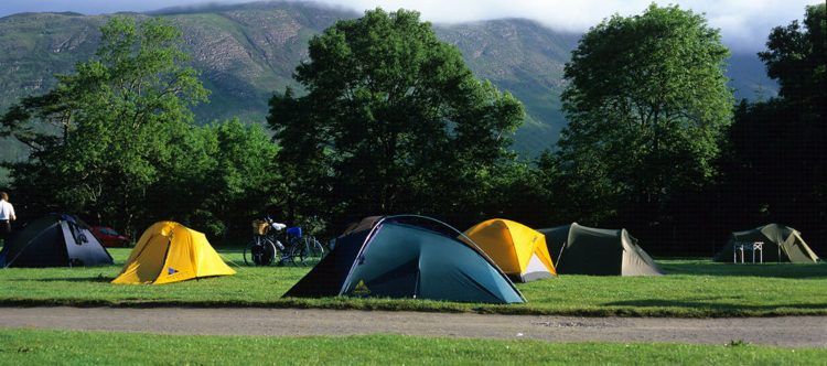 Camping at Troutbeck Caravan and Camping Park