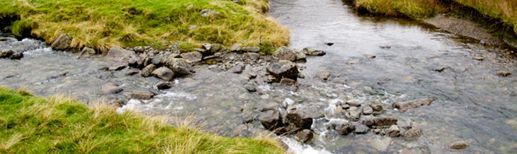 Troutbeck Caravan and Camping Site - Stream junctio